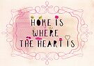 home is where the heart is by Sybille Sterk