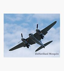 DeHavilland Mosquito Photographic Print