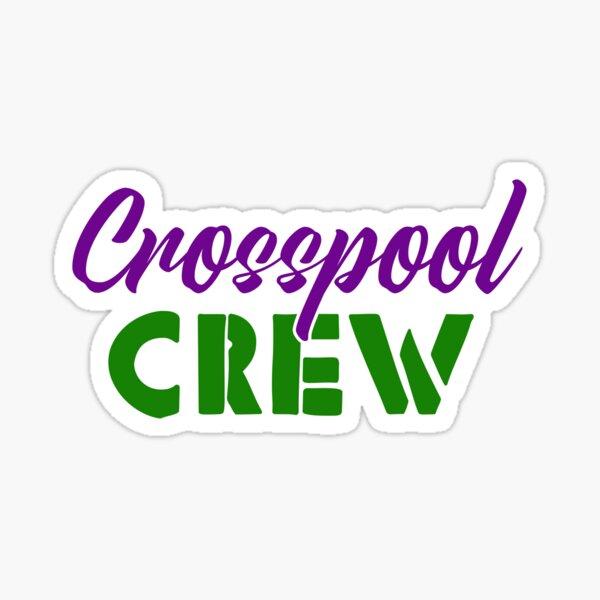 Crosspool Crew - Sheffield t-shirts Sticker
