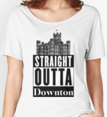 Straight Outta Downton Relaxed Fit T-Shirt