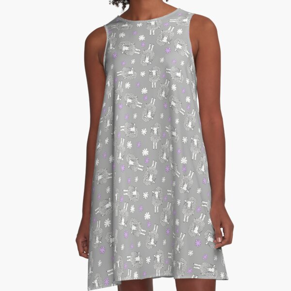 Sheep A-Line Dress