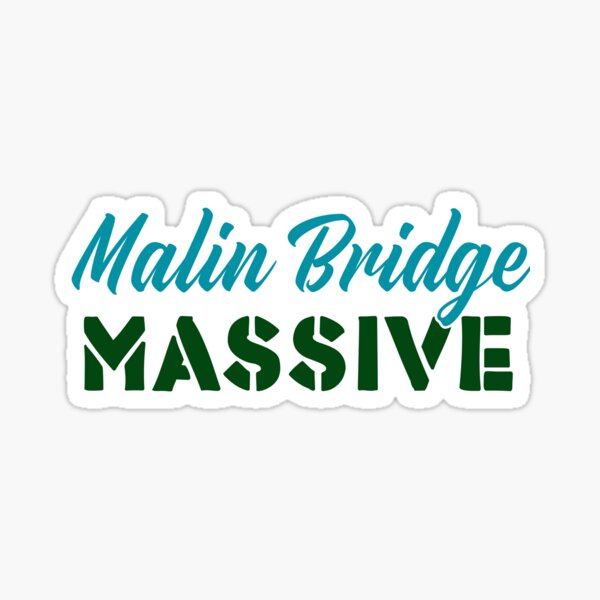 Malin Bridge Massive - Sheffield t-shirts Sticker