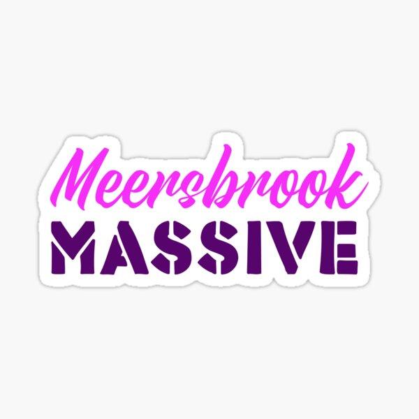 Meersbrook Massive - Sheffield t-shirts Sticker