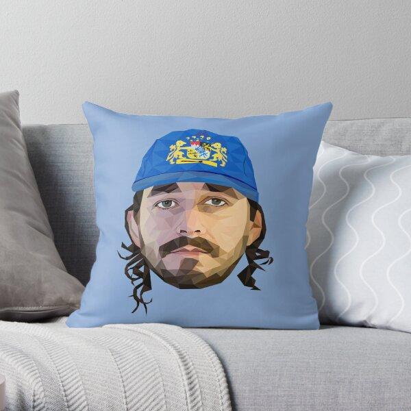 Shia LaBeouf low poly art Throw Pillow