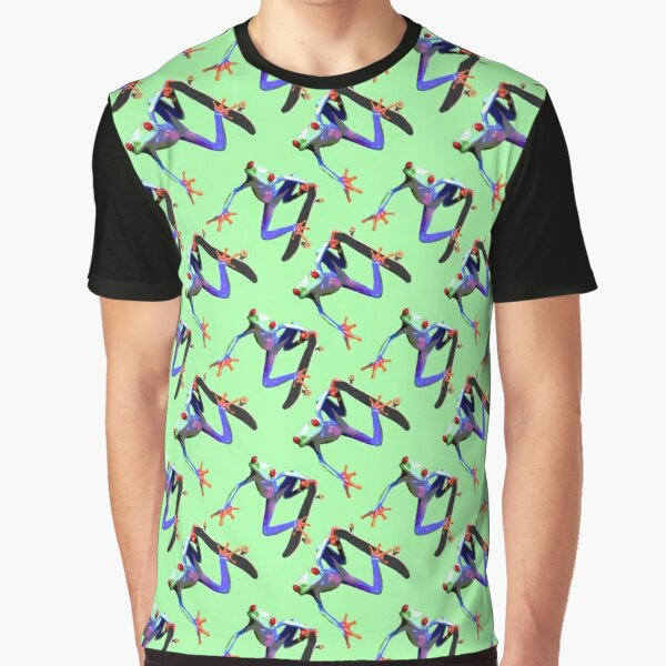 Skating frog Graphic T-Shirt