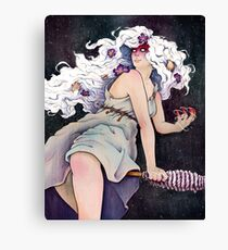 Witch Holda Canvas Print