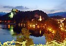 Bled at Night by Graeme  Hyde
