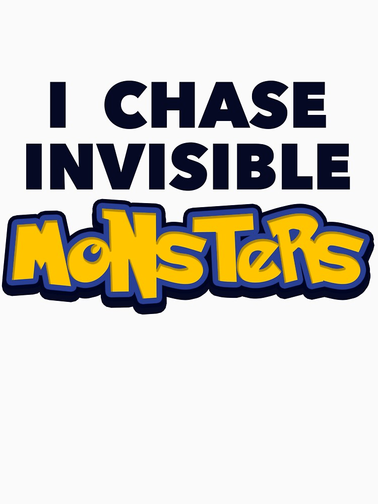 Pokemon Go I Chase Invisible Monsters by radthreads