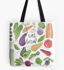 Eat More Veggies Tote Bag