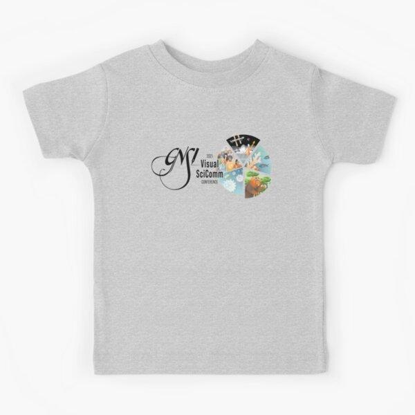 2021 Visual SciComm GNSI Conference Logo (horizontal) Kids T-Shirt
