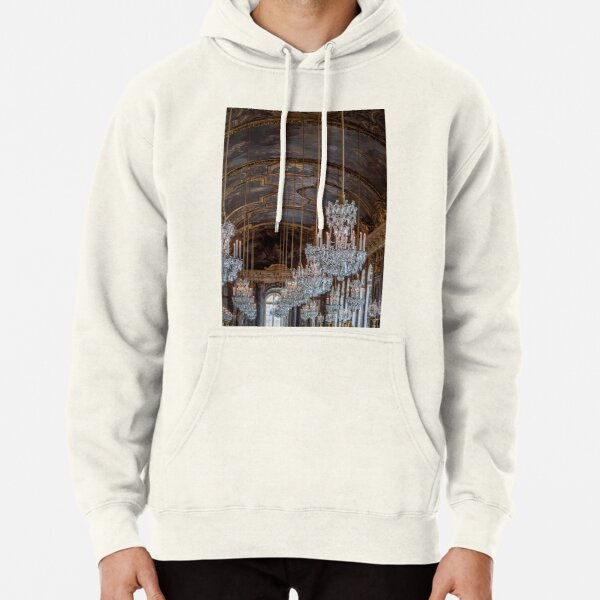 French Palace Chandeliers  Pullover Hoodie