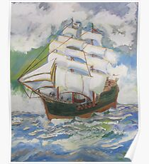 Be A Pirate Poster
