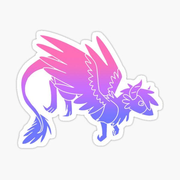 Bi Pride Dragon Sticker
