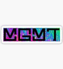 MGMT Psychedelic Logo  Sticker