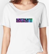 MGMT Psychedelic Logo  Women's Relaxed Fit T-Shirt