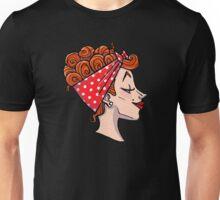Rockabilly Redhead - 50s Pinup Cameo Unisex T-Shirt