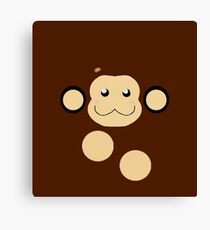 Mega Man Legends Data The Monkey pattern. (UNOFFICIAL) Canvas Print