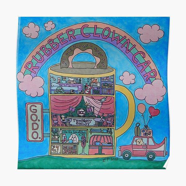 Rubber Clown Car Poster