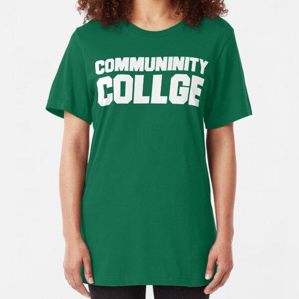 Community College- misspelled Slim Fit T-Shirt