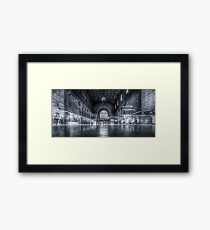 Ghosts of Union Station 2 Framed Print
