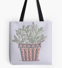 Potted Plant Tote Bag