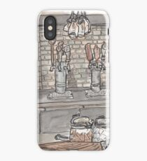 Urban Sketch of Roam Bar iPhone Case/Skin