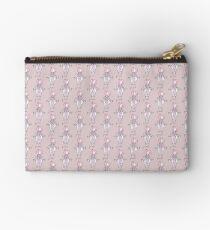 Lilac Pearl Zipper Pouch
