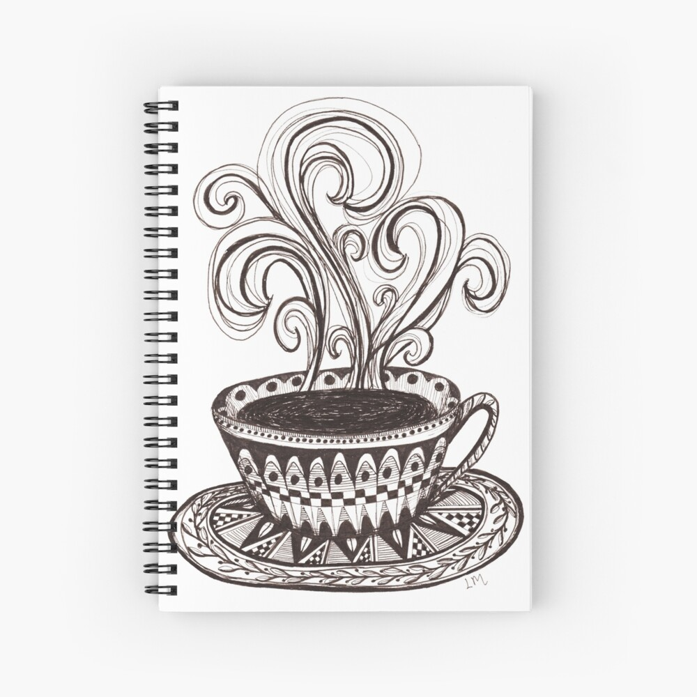 Coffee is Life Spiral Notebook