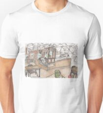 Kaleidoscope Coffee Sketch T-Shirt