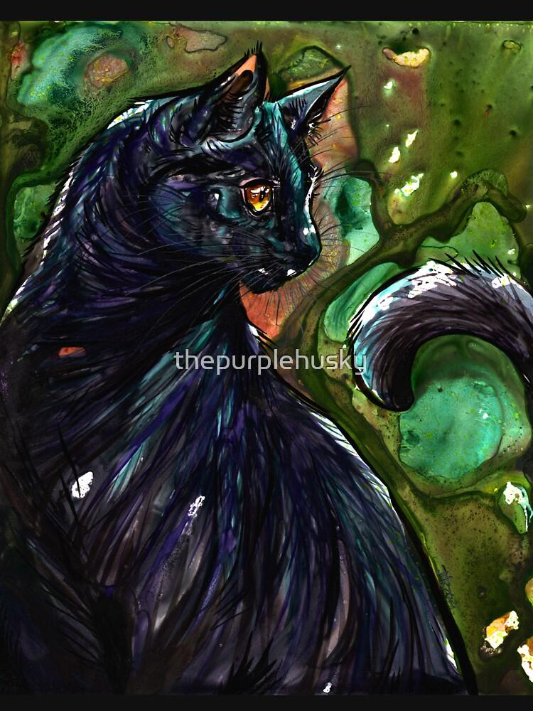 Leathercat by thepurplehusky