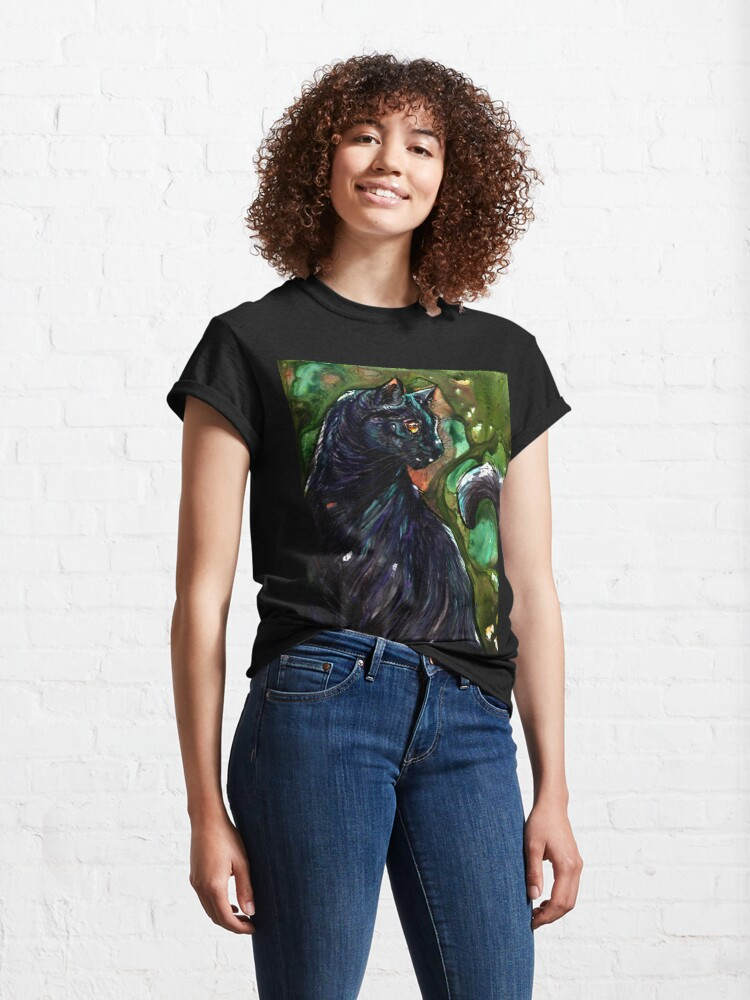 Alternate view of Leathercat Classic T-Shirt