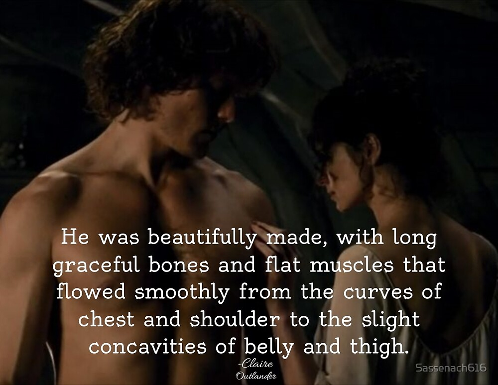 Outlander Wedding night Quote/Jamie & Claire Fraser by Sassenach616