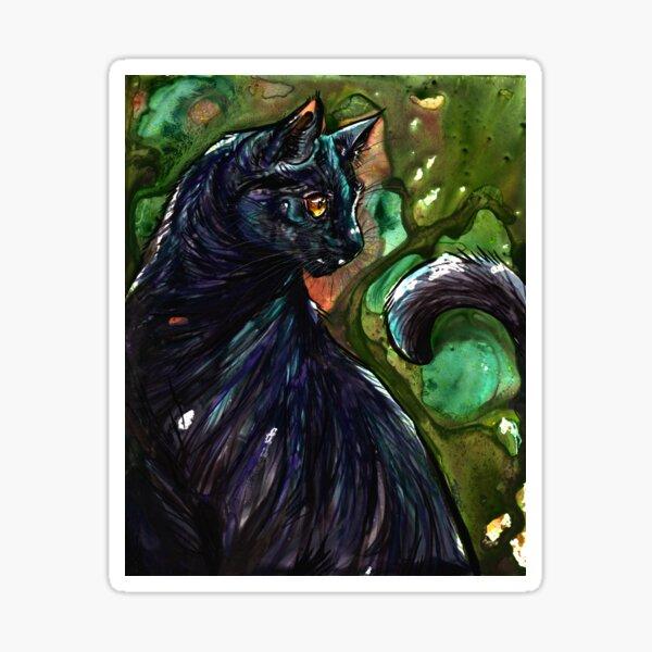 Leathercat Sticker