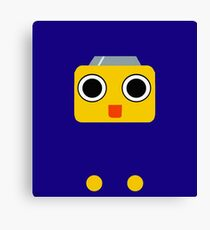 Mega Man Legends Servbot pattern (UNOFFICIAL) Canvas Print