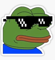 dank pepe Sticker