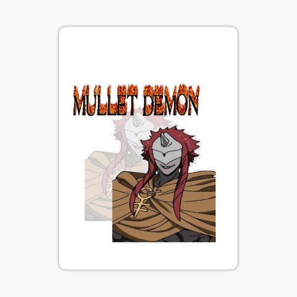 MULLET DEMON Sticker