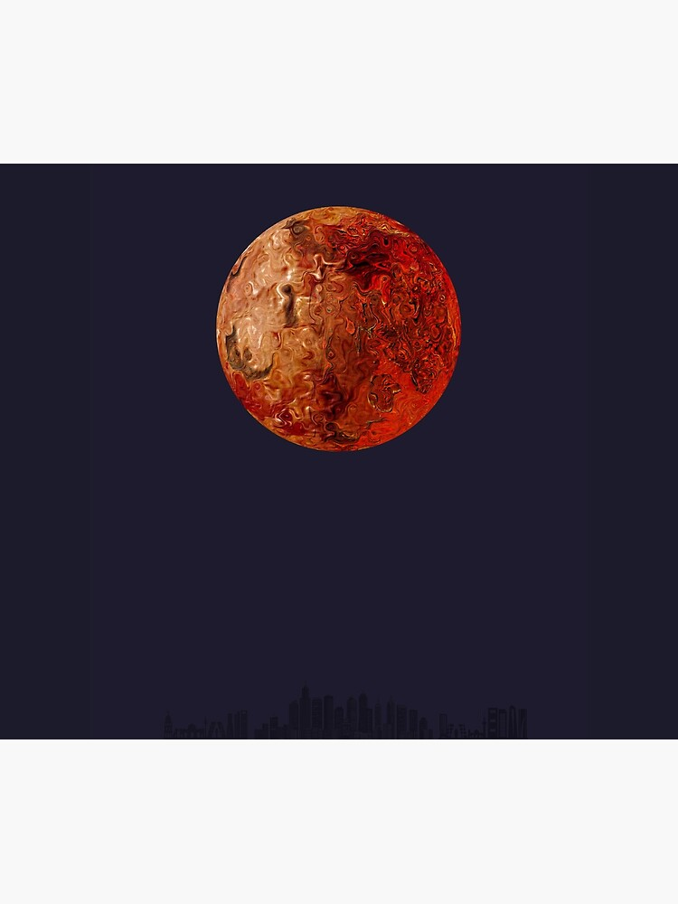 Mars The Red Planet by Vk91art