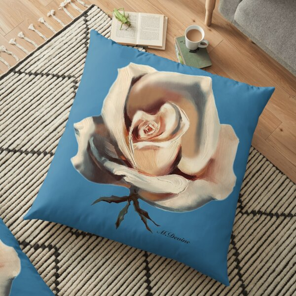 Rose (Without Outline) Floor Pillow