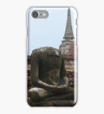 Headless buddha iPhone Case/Skin