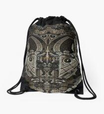 Gothic Steampunk Structure Drawstring Bag