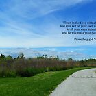 Proverbs 3:5-6 by Dawn Silva Hunter