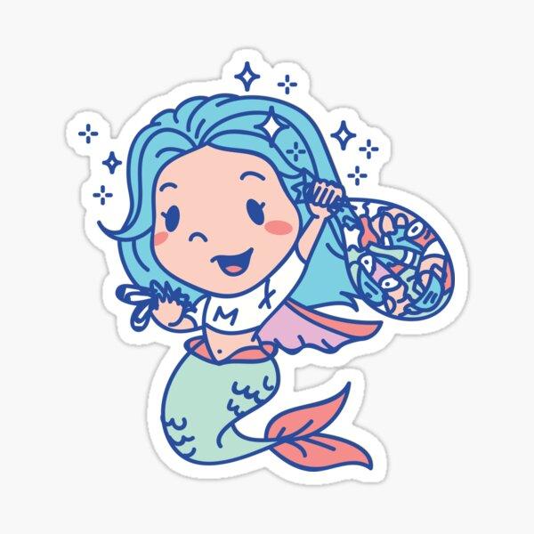 Ocean Hero mermaid Sticker