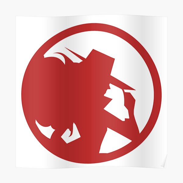 Carmen Sandiego Red  Poster