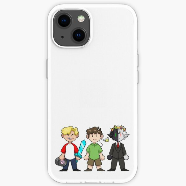 Tommyinnit, Tubbo & Ranboo iPhone Soft Case