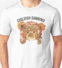 Gambino gefärbt Slim Fit T-Shirt