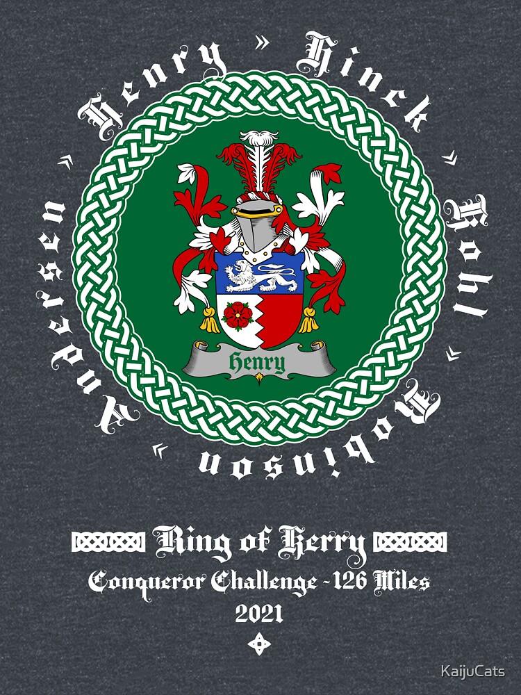 Ring of Kerry Conqueror Dark Shirt by KaijuCats