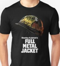Stanley Kubrick's Full Metal Jacket | Black Unisex T-Shirt