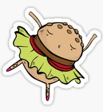 Burger Dance Sticker