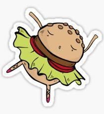 Burger Dance Sticker