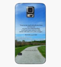 Proverbs 3:5-6 Case/Skin for Samsung Galaxy